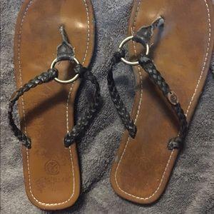 Ocean Minded Shoes - Leather Flip Flops
